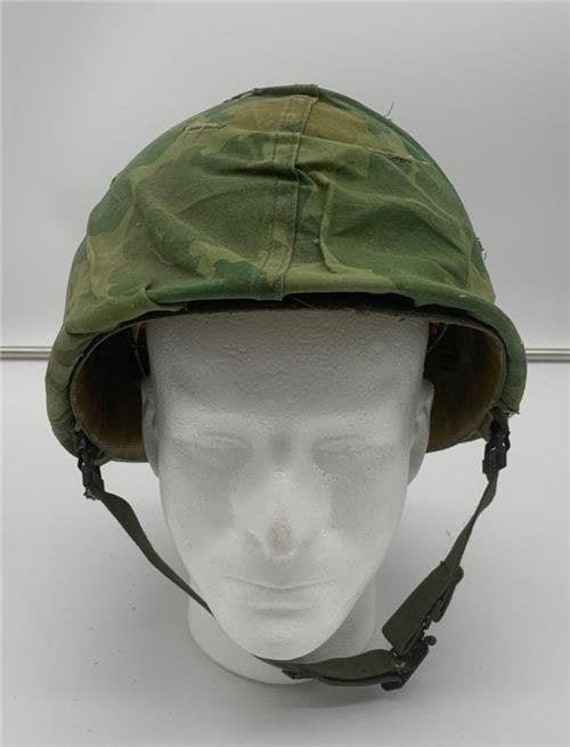 Vietnam War US Army M1 Helmet and Liner Swivel Bal