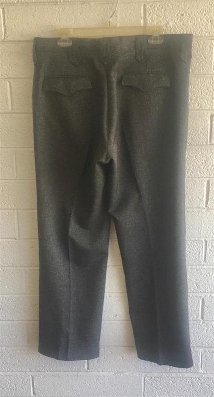 Vintage Circle S 2pc Western Suit sz 42R Gray Rockabilly