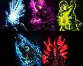 Final Fantasy XV character prints