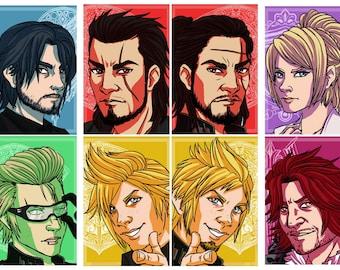 Final Fantasy XV double-sided shrinkie charms