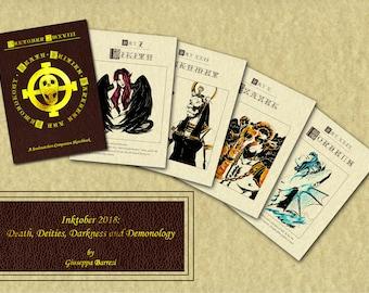 Death, Deities, Darkness and Demonology - a Soulsnatchers companion sketchbook