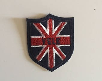 British flag Yele iron on patch