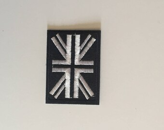 British flag iron on patch