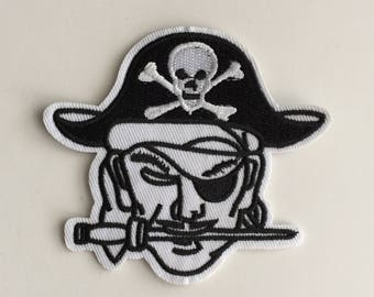 Pirate Iron on patch
