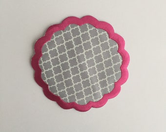 Monogrammed Iron on patch