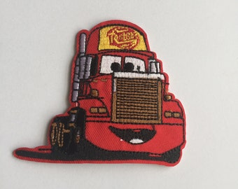 Mac Truck from Lightning McQueen Cars Iron on patch
