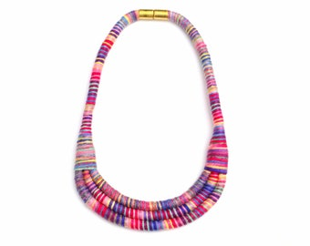 Statement Bib Necklaces For Women, Colorful Statement Jewelry For Her