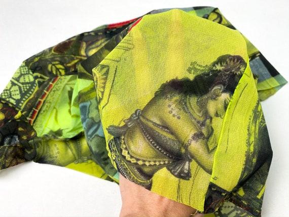 Kenzo mesh top, 90s clothing, 90s mesh top, Kenzo… - image 3