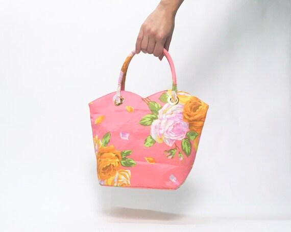 Kenzo floral dress, 90s floral dress, pink slip d… - image 8