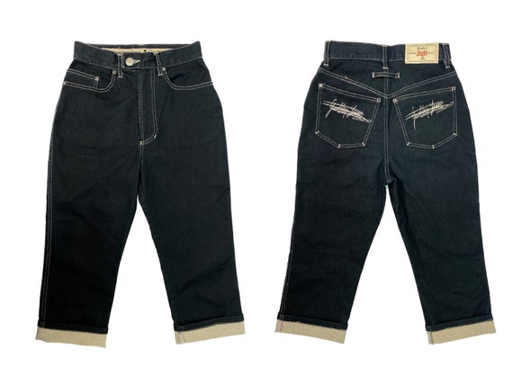Gaultier jeans, gaultier jeans, 90s gaultier, crop