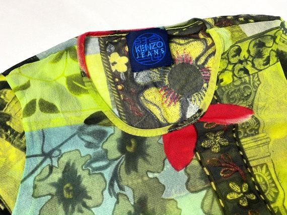 Kenzo mesh top, 90s clothing, 90s mesh top, Kenzo… - image 2