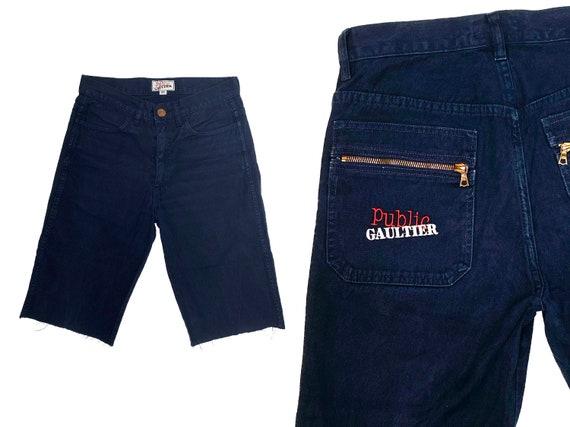 Gaultier jeans, gaultier worker pants, 80s gaultie