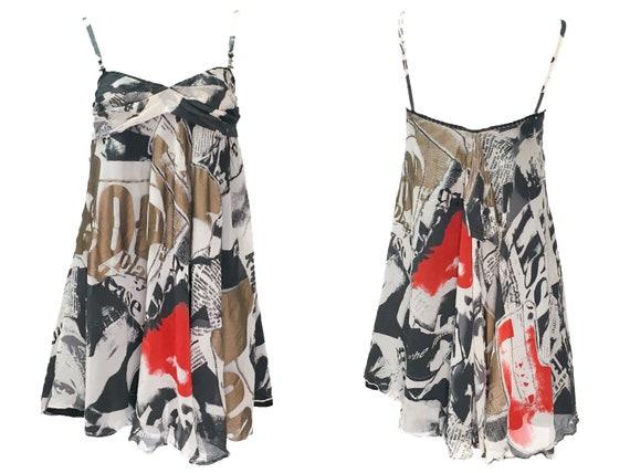 Galliano Gazette, John Galliano Silk Dress, Y2k Cl