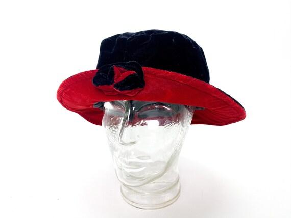 Flipped bucket hat, floppy hat, 90s bucket hat, bl