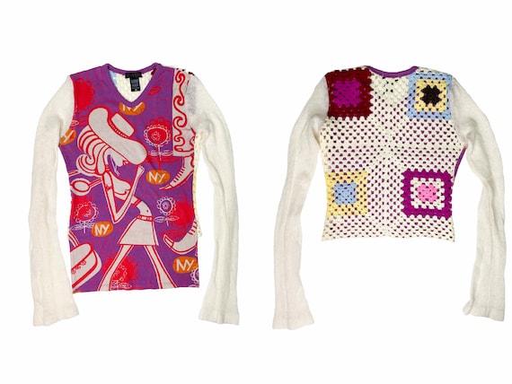 Custo Barcelona, 90s Clothing, vintage crochet, vi