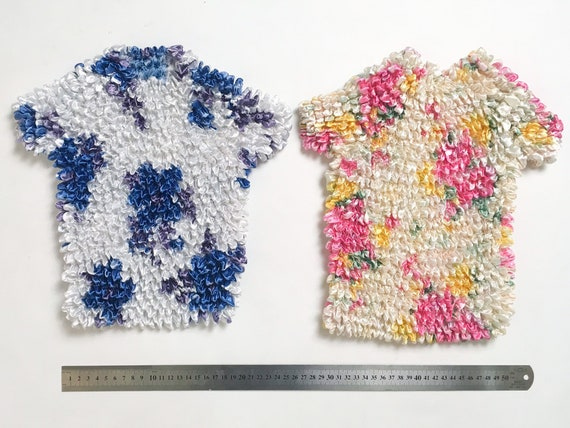 Crinkle tops, popcorn top, 90s ruched top, 90s cl… - image 7
