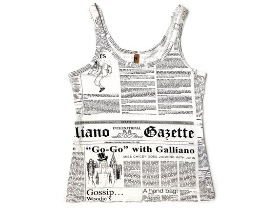 Galliano gazette, galliano newspaper print, gallia