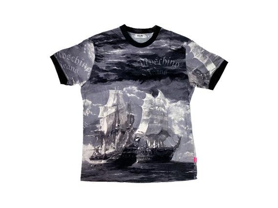 Vintage Moschino, 90s Moschino t-shirt, Pirate pri