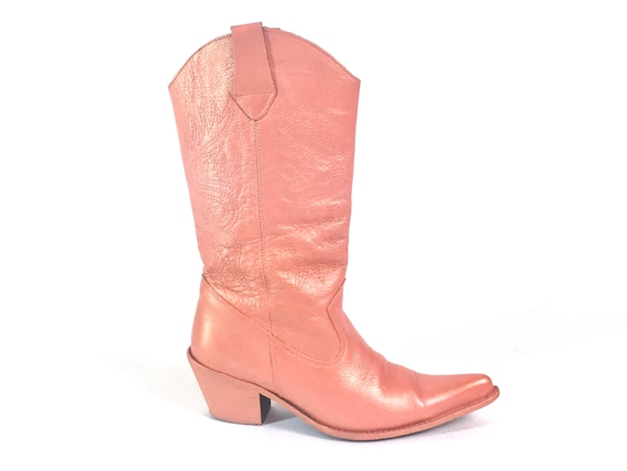 Western boots, Metallic cowboy boots, pearlized co