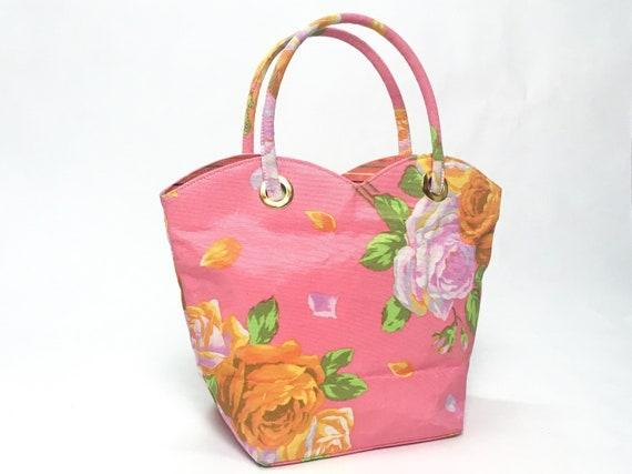 Kenzo floral dress, 90s floral dress, pink slip d… - image 9