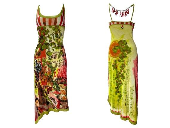 90s dress, 90s mesh dress, slip dress, Save the Q… - image 1