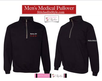 Personalized Men s Pullover Jacket  14c5895bb