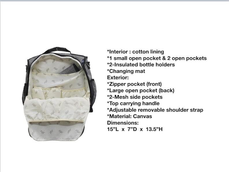 Baby Boy Diaper Bag Backpack Baby Shower Gift