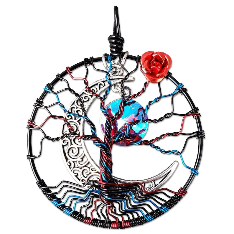 Luciana Tree of Life Pendant image 0