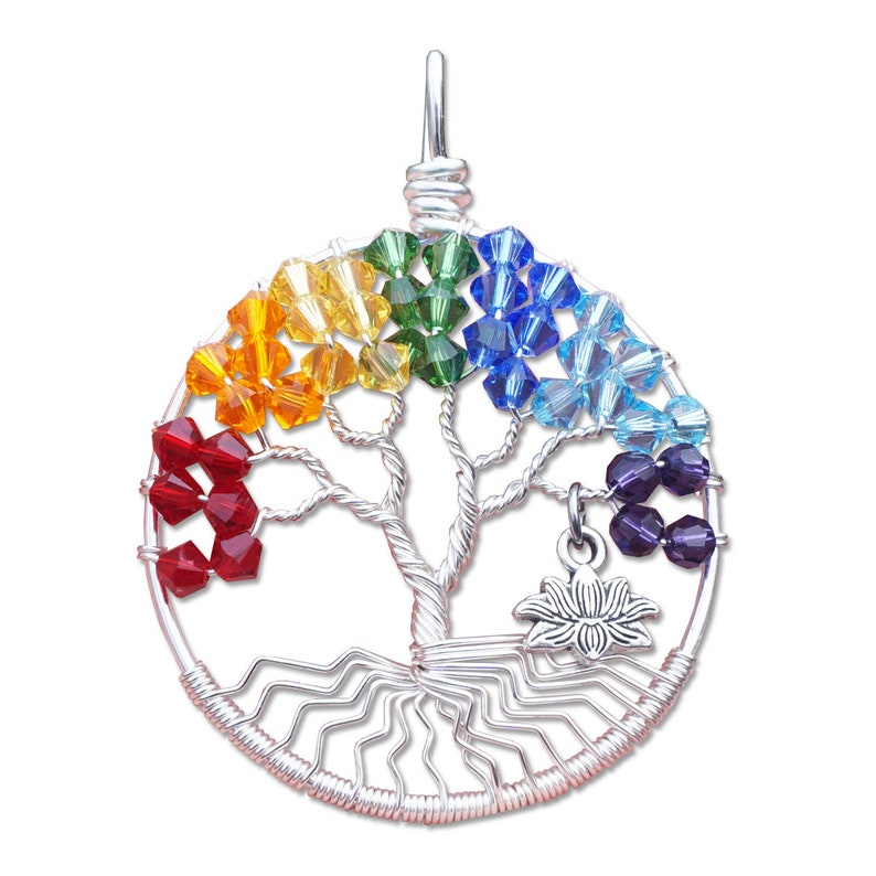 Chakra Junior Tree of Life Pendant image 0