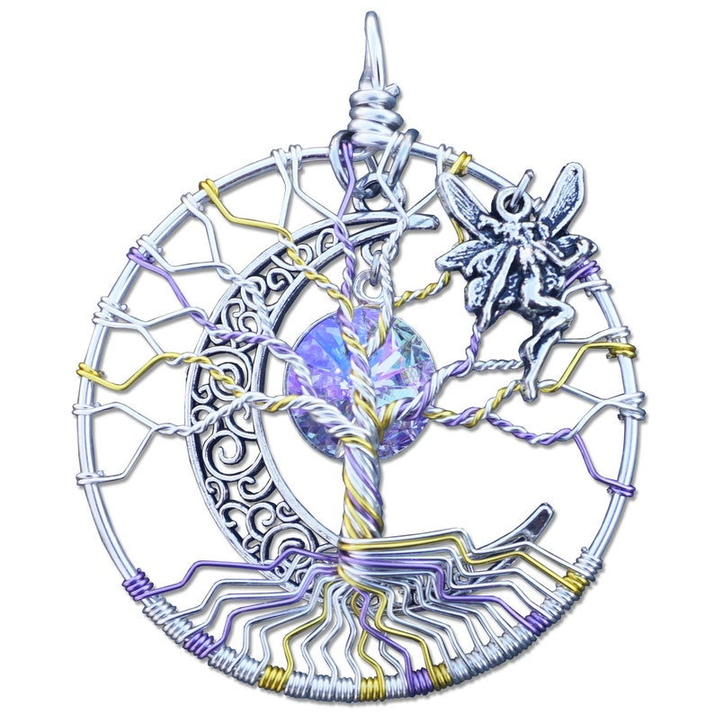 Dryad Tree of Life Pendant image 0