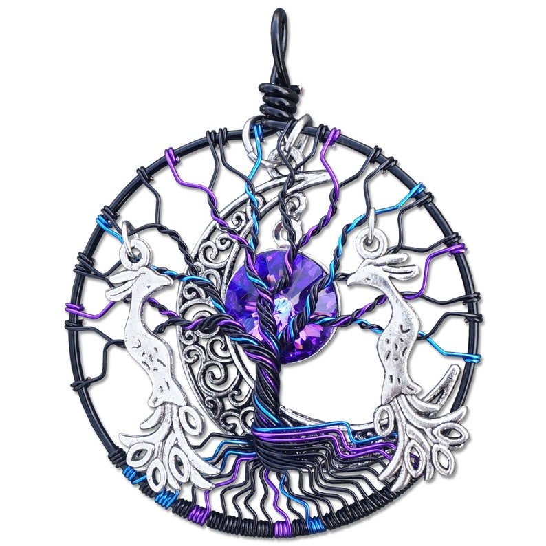 Hera Tree of Life Pendant image 0