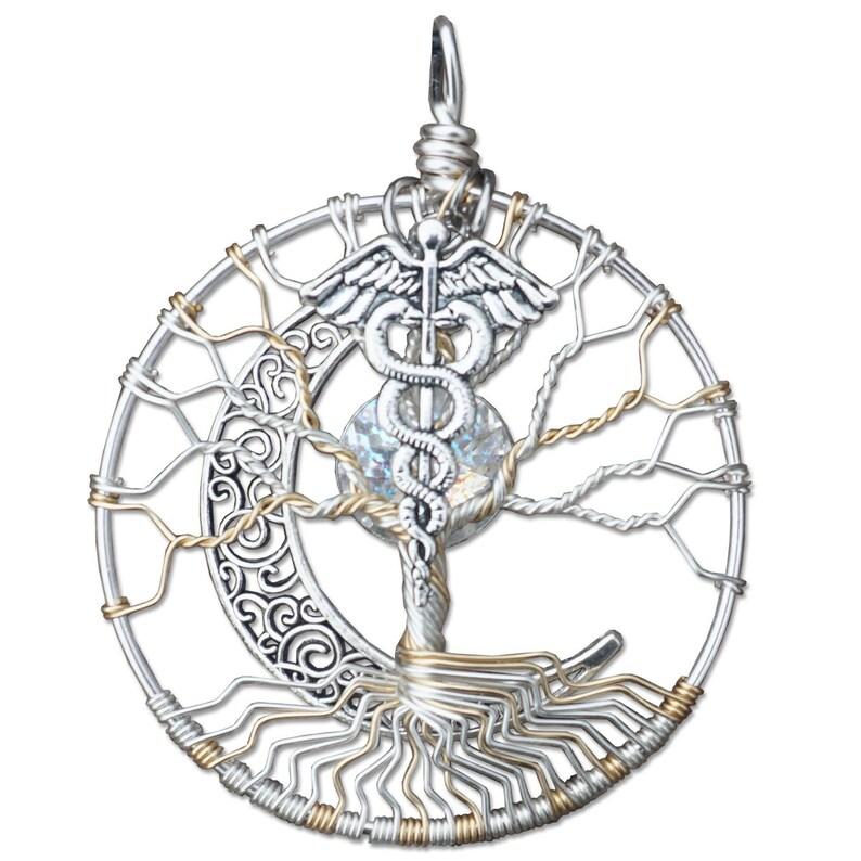 Hermes Tree of Life Pendant image 0