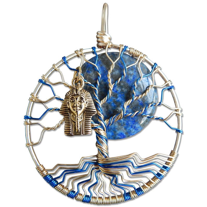 Pharoah Tree of Life Pendant image 0
