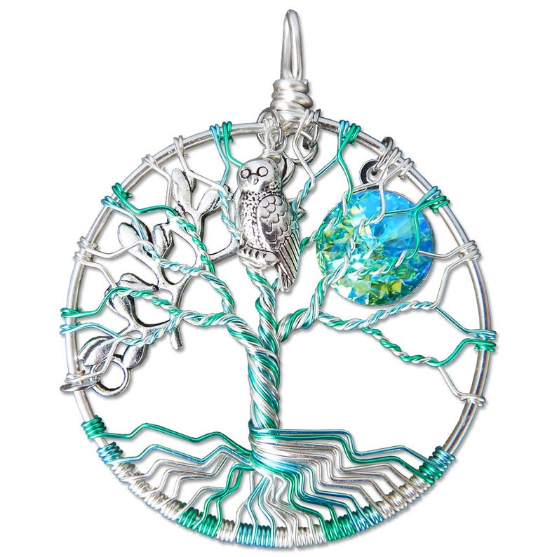 Athena Tree of Life Pendant image 0