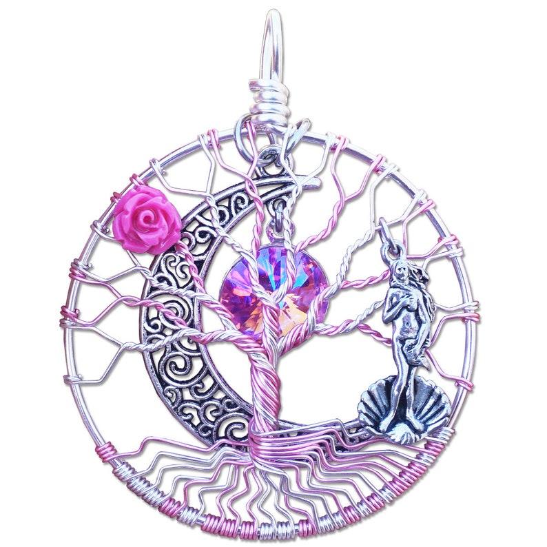 Aphrodite Tree of Life Pendant image 0