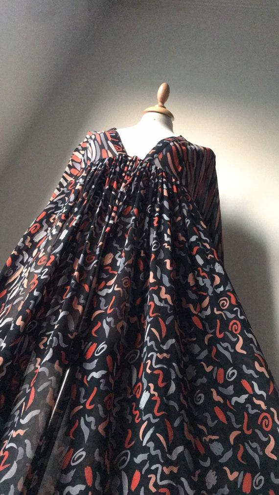 Vintage 70's Ossie Clark for Radley Smock dress /