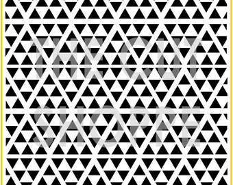 The Tiny Triangles background cut file is available in 8.5x11 & 12x12 sizes, for your scrapbooking and papercrafting projects.
