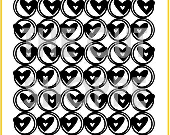 The Addicted to Love background cut file is available in 8.5x11 and 12x12 sizes, for your scrapbooking and papercrafting projects.