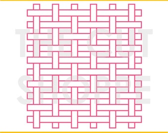 The Basket Weaving background cut file can be used for your scrapbooking and papercrafting projects.