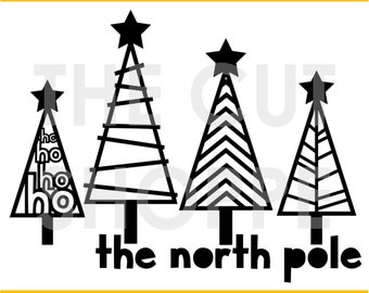 The North Pole cut file is a Christmas themed design, that can be used for your scrapbooking and papercrafting projects.