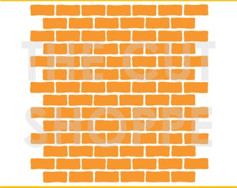 The Brick House background cut file can be used for your scrapbooking and papercrafting projects.