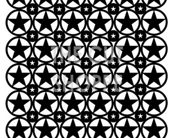 The It's in the Stars cut file is a 12x12 background cut file, that can be used on your paper crafting projects.