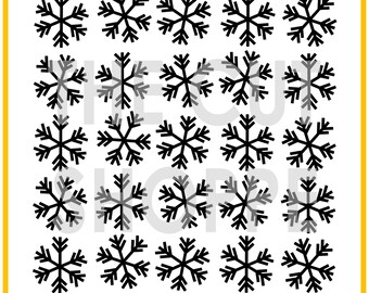 The Snow Day background cut file is available in 8.5x11 and 12x12 sizes, for your scrapbooking and papercrafting projects.
