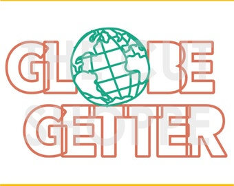 The Globe Getter cut file can be used for your scrapbooking and papercrafting projects.