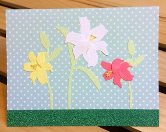 Pastel Flower Greeting Cards