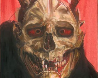 Hanya Skull by Michael Bellamy