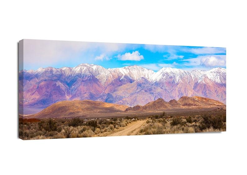 The San Francisco Mountains near Canvas Wall Art Print Mountain Home Decor