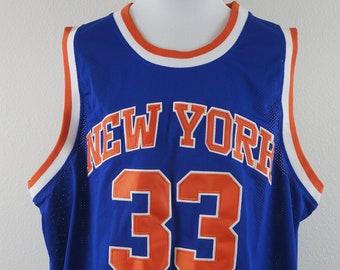 a2a079da Mitchell & Ness Hardwood Classics New York Knicks Ewing 33 1985-86 Basketball  Jersey - Missing Size Tag