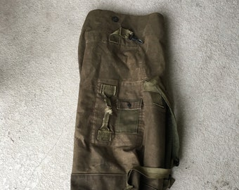 Vintage US Army Duffle Bag 80s Army Duffle Bag 19c8d0ff9ba33