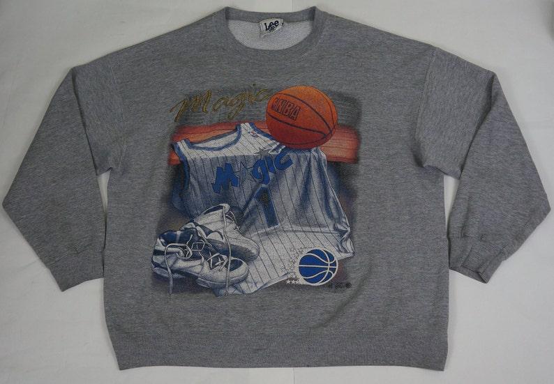 d99cf0fb9 Vintage Lee Sport Orlando Magic NBA Size XL Gray Basketball | Etsy